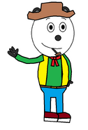 Panda 'Pandy' Smoochie (pipe) (Pat Buttram)