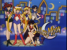 Sailor Moon Engish Poster