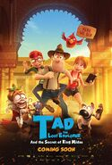 Tad Stones The Lost Explorer and the Secret of King Midas 2017