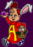 Alvin the Easter Chipmunk