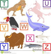 Animal Alphabet Part 4