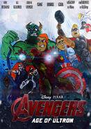 Disney pixar avengers age of ultron poster by bmoneyrulz-d8l8k0b