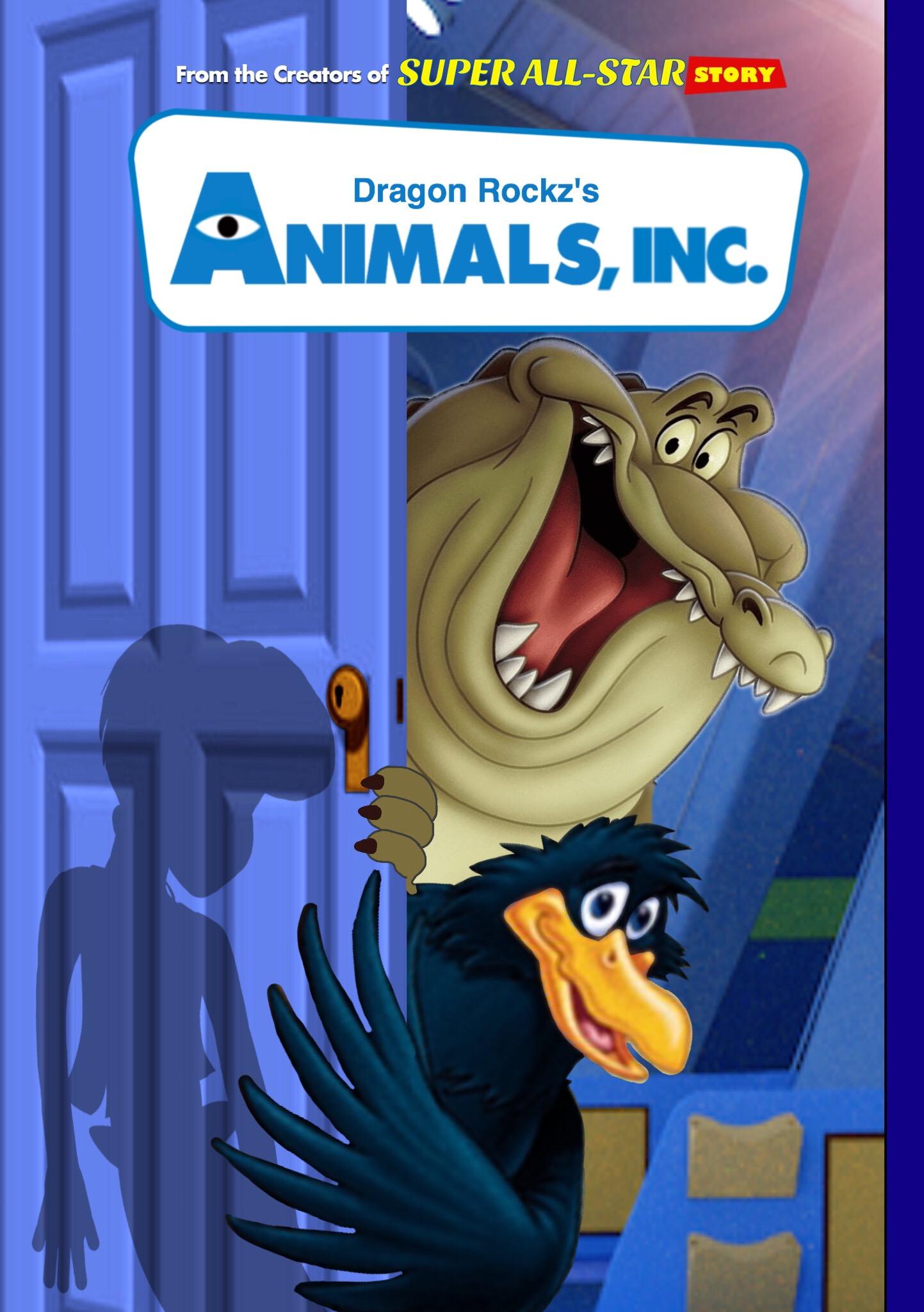 Animals, Inc  (Dragon Rockz Style) | The Parody Wiki