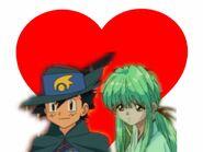 Ash Ketchum and Yukina = RescueShipping