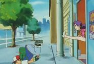 Ash gets kicked out of the Celadon department store