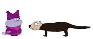 Chowder Meets Sea Otter