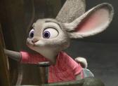 Judy turns on the train