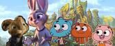E.B., Judy, Gumball, Darwin and Anais