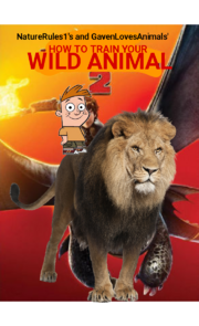 How to Train Your Wild Animal 2 (NR1GLA Style) Poster