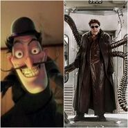 Michael Yagoobian as Doc Ock