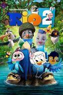 Rio 2 (2014; Davidchannel's Version) Poster