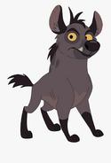 Sita the hyena