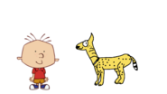 Stanley Griff Meets Serval