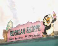 Ice cream penguin