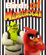 Angry Birds of Madagascar- The Movie (2014) Poster