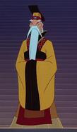 Emperor in china mulan