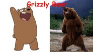 Grizz and Real Grizzly