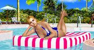Jill valentine pool chillin by blw7920-d47az8s