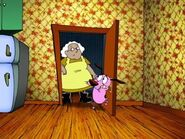 Muriel has a problem with eustace