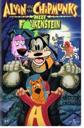 Scooby and the chipmunks meet frankenstein vhs cover