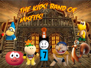 The Kids Band of Misfits Poster