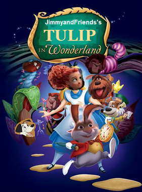 Tulip in wonderland poster