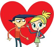 Zack Freeman and Polly love together