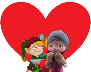 Edison Elf and alma love together