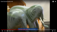 Elephant Trunk Made From A Coat Hook