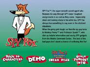 HE Catalog Spy Fox Screen (1999) (V1)