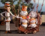 Milton found rudolph and frosty