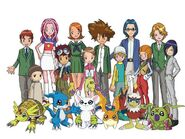 The Digimon Adventure 02 Group v1 by Moelleuh