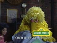 Big Bird is put to bed at the end of episode 2280