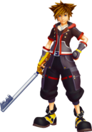 Sora kingdom hearts 3