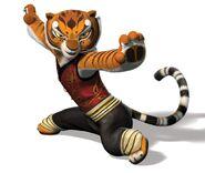 Tigress (from Kung Fu Panda) as Charlotte Pickles