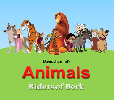Animals Riders of Berk (TV Series poster)