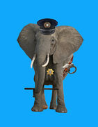 Elephant cop by uranimated18-d8s9gg8
