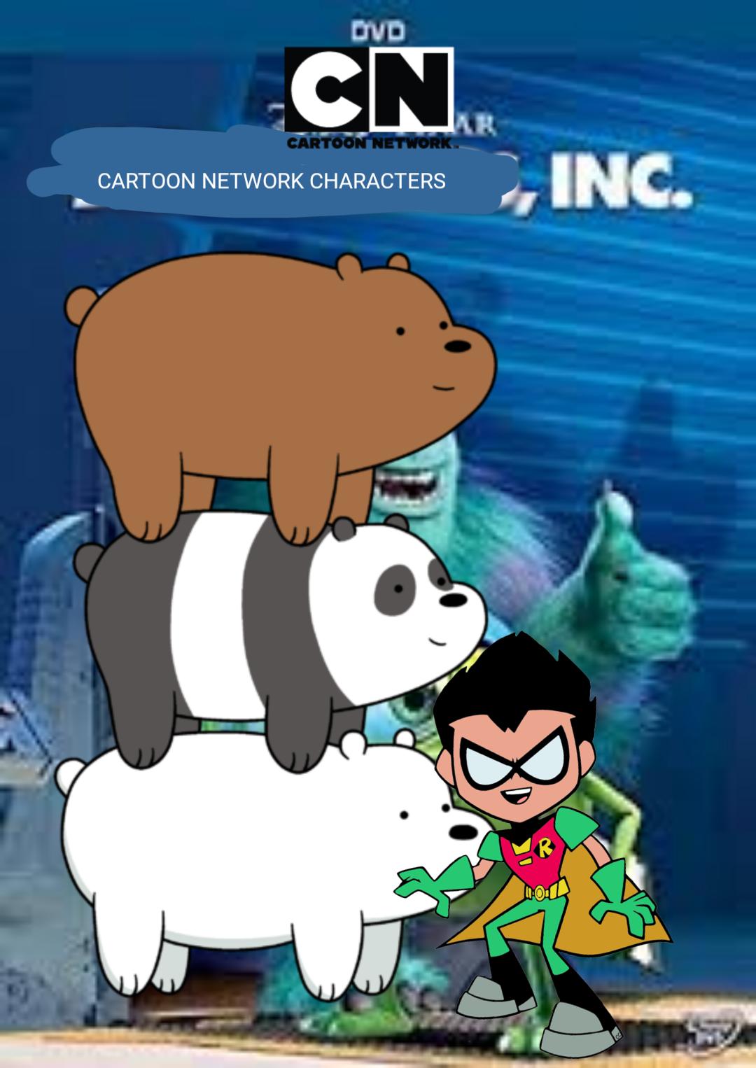 Cartoon Network Characters, Inc. (Cartoon Network Style ...