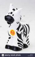 Fisher Price Little People Plains Zebra