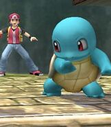 Squirtle in Super Smash Bros. Brawl