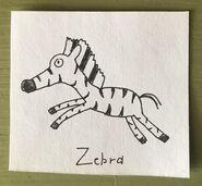 Zebra Begins With Z