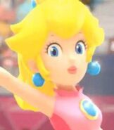 Peach in Mario & Sonic at the London 2012 Olympic Games (2011)