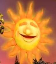 Ray the Sun in Bear in the Big Blue House