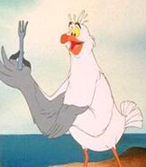 Scuttle in The Little Mermaid