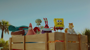 Spongebob burger food