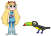 Star meets Keel-Billed Toucan