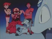 Ash and Friends Torture Meowth