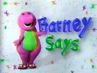 BarneySaysS3
