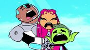 Teen titans crying