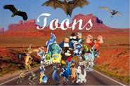 Toons Cars Poster Amzyzma
